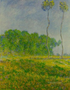 Claude Monet Painting - Spring Landscape Claude Monet